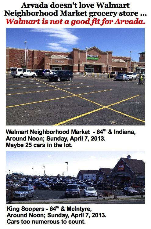Walmart Market vs. King Soopers Arvada