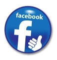 FB Round Button