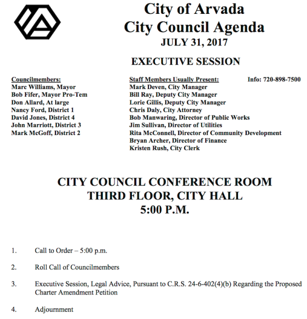 City Council Agenda for July 31  2017