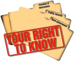 Right-to-know files