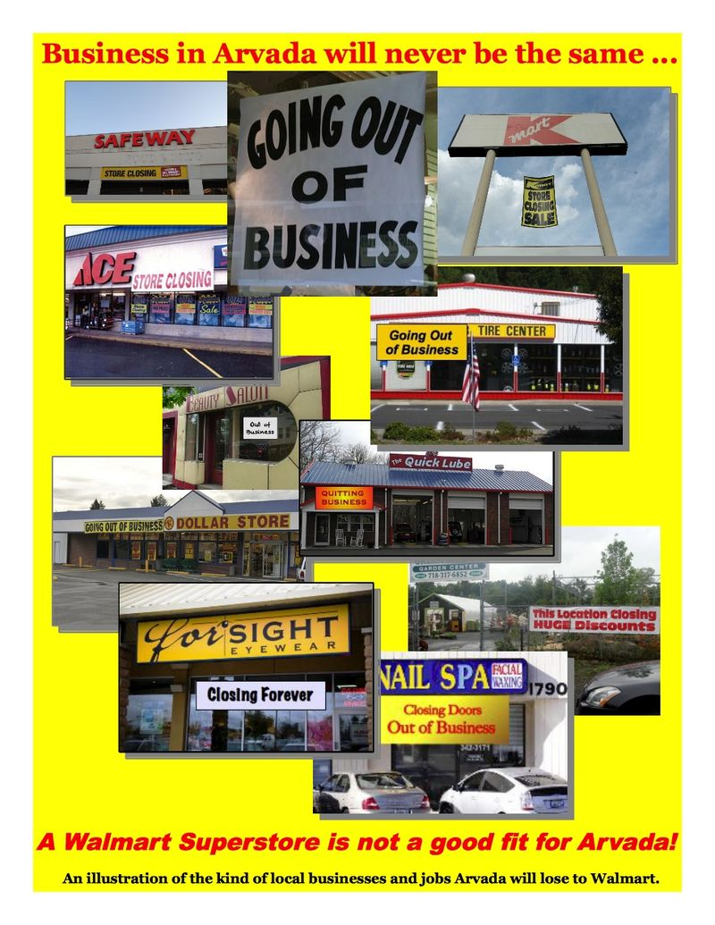 Business in Arvada will never be the same … Photo Collage