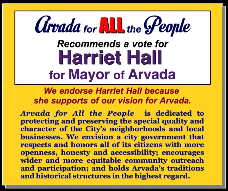 AAP Hall Endorsement 2019